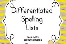 Differentiated spelling
