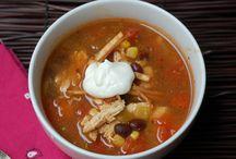 Soups & Chilis / Mmmm Mmmm Good- homemade soups!