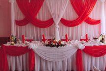 Оформление зала для торжества. / Оформление зала для проведения свадеб, юбилеев, дней рождения и Ваших самых замечательных праздников.