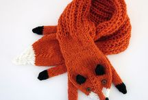 Crochet fox and other animals