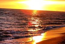 ostia beach - sunset