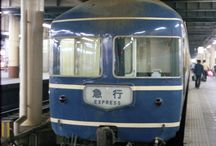 Nostalgic train and scene