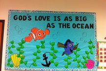 Religious Bulletin Boards