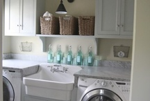 Cupboards for laundry