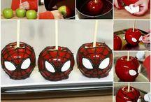 Fruta Arte / Creaciones hermosas con frutas!