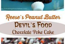 Chocolate Poke Cakes