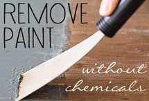 how to remove paint