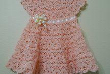 Vestido Beba en Crochet