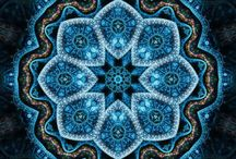 Mandalas  / Mandalas have fascinated me for many years, but I'm going to use Judith Cornell's Healing With Mandalas in 2014 so I'm going to start gathering them.