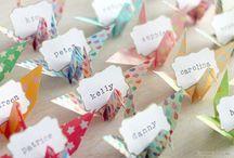 Origami arange