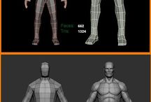 Low Poly Character Modeling