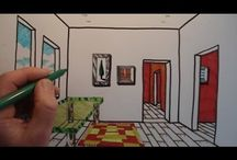 YouTube videos art lessons perspective drawings