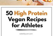 Protein, high for athlete