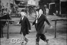O gordo e o magro  /Stan Laurel   and Oliver Hardy / o norte-americano Oliver Hardy e o britânico Stan Laurel