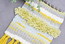 > WEAVED WITH LOVE < / Tissages et macramés WEAVED WITH LOVE, by monatelierdeco