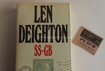 Rare Len Deighton items / Images of some rare Len Deighton books and ephemera, featured on The Deighton Dossier website