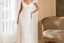 Suknie ślubne - proste