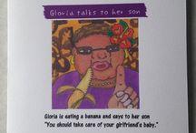 アート ミナ おもしろグリンティングカード