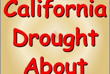 California Drought / California drought information and resources / by AllAboutPreppers