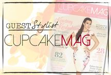 Gracie B. + cupcakeMAG / cupcakeMAG is an online magazine and fashion-centric website that brings readers the best in product reviews, fashion, celeb interviews, and more. The cover of their latest issue features Kourtney Kardashian.