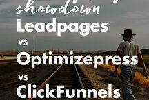 Work From Home Mom Tips: Landing Pages and Sales Funnels / The best tips and tricks for work from home moms about how to build landing pages and sales pages in software programs like Leadpages, Clickfunnels, and more!
