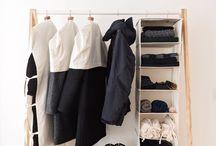 ideii depozitare haine
