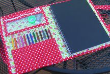 Sewing - Notebooks / Art Journals / Crayon Rolls / by Ellie Bowman
