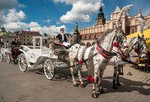 TRAVEL IN Krakow / Travel in Krakow. Choose your means of transport.
