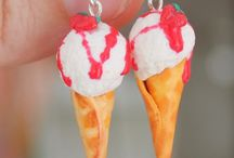 Earrings sweets / Earrings made of polymer clay