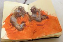 Portfolio sketchbook ideas