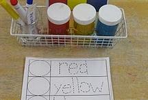 SENSORIAL ACTIVITIES / Montessori inspired sensorial activities.