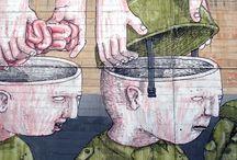Artista: BLU  street art