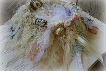 Beautiful shabby birds nest