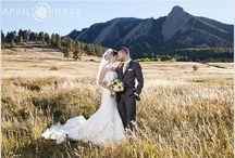 Boulder Colorado Wedding Venues and Photo Locations / A photo board full of Boulder Colorado wedding venues and photo locations for portraits in the Boulder Valley area.  #Boulder #Colorado #BoulderWedding #ColoradoWedding