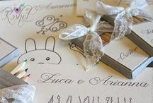 Segnaposto per bimbi / Idee per segnaposto divertenti per i bimbi. #weddings #baby #matrimoni