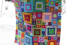 Quilts and fabric / by Deb