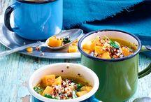 Gesund essen / Fit durch den Alltag: die besten Rezepte und Tipps für eine gesunde, ausgewogene Ernährung.
