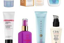 Skincare : sunscreen