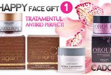 Happy Face Gift / Platesti 2 si primesti 3 creme tratament pentru tenul tau!