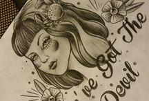 nina tattoos dessins