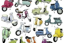 Vespa and relatives / on 2 wheels