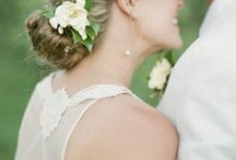 Wedding hairstyles, headpiece, veil