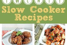 Slow Cooker Recipes / Food, recipes for slow cookers / by Susi Kleiman