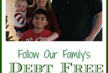Debt Free Living / Learn how to live debt free. Tips for becoming debt free and getting rid of debt. Learn how to eliminate debt and never use a credit card again.