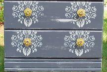 Dresser re-do / by Kristina Fey