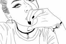 Tumblres lányok
