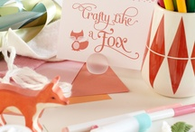 like a fox. / nursery + party ideas for baby boy. / by Becca | CAKE.