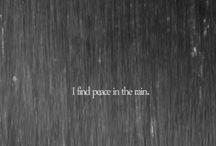 Rain and Raining