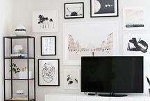 Tv-vägg