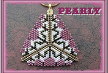 BEADS -  Pendant Triangles & Stars / BEADS and  Pendant Triangles & Stars